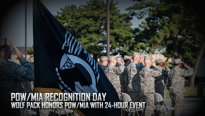 Wolf Pack honors POW/MIA with 24-hour event