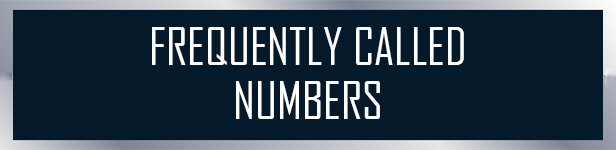 Frequently Called Numbers